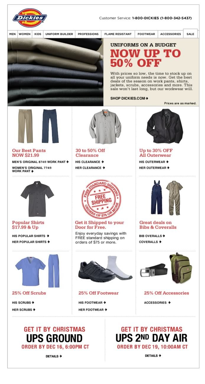 Up to 50% Off - Uniforms on a Budget