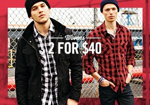 Shop 2 for $40: Button-Downs