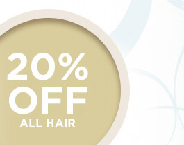 20% off Hair