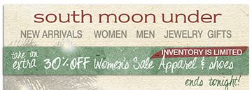 Shop the Holiday Gift Shop at South Moon Under