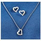 Landstroms® Black Hills Gold Heart Necklace and Earrings Jewelry Set
