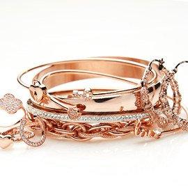 Rose Gold Tones: Women's Jewelry