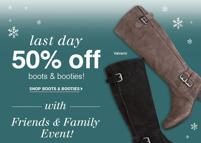 Click here to shop boots and booties.