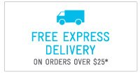 FreeExpress Delivery On Orders Over $25*