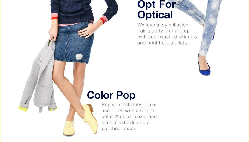 Opt For Optical | Color Pop