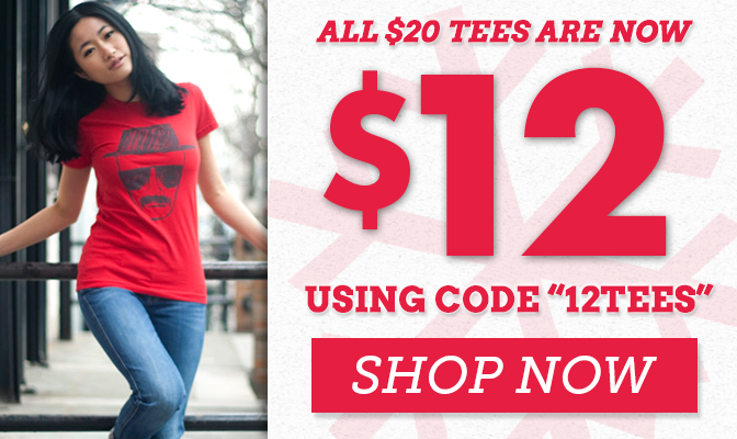 All $20 Tees Are Now $12 - Shop Now