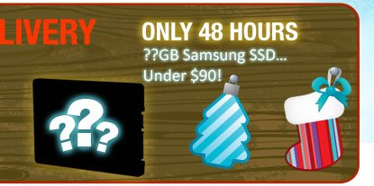 only 48 hours - ??GB Samsung SSD…under 90usd!