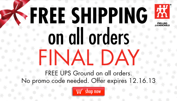 FREE Shipping FINAL DAY
