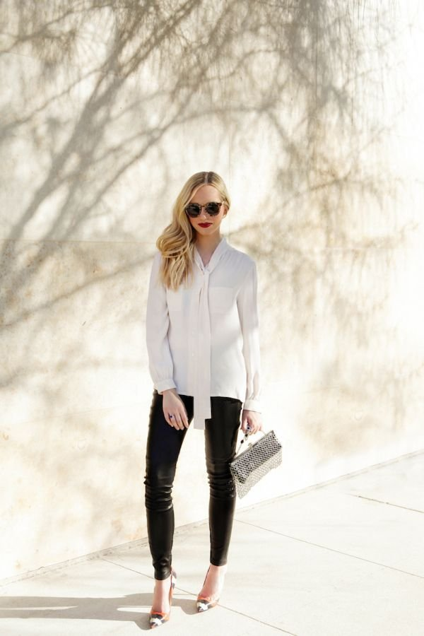How To Do Vintage: The Silk Bow Blouse