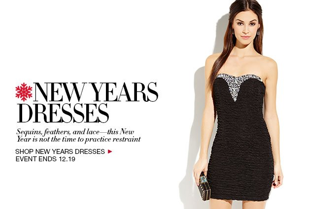 Shop New Years Dresses
