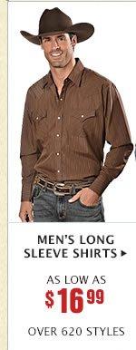 Mens Long Sleeve Shirts on Sale