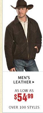 Mens Leather on Sale