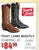 Mens Tony Lama Boots on Sale