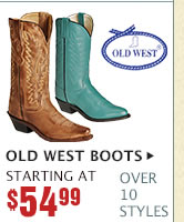 Womens Old West Boots on Sale