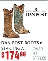 Womens Dan Post Boots on Sale