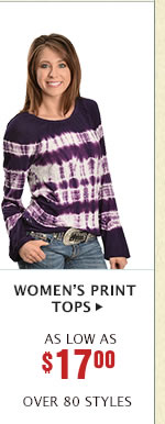 Womens Print Tops on Sale