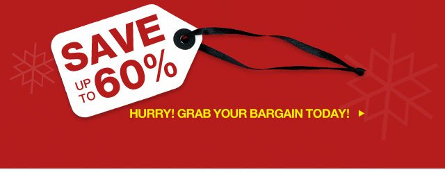 Hurry! Grab your bargain today!