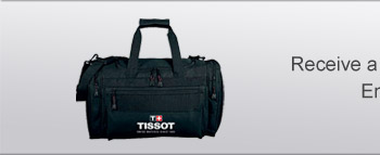 Receive a free duffle bag as our gift to you. Enter HOL2013 in checkout