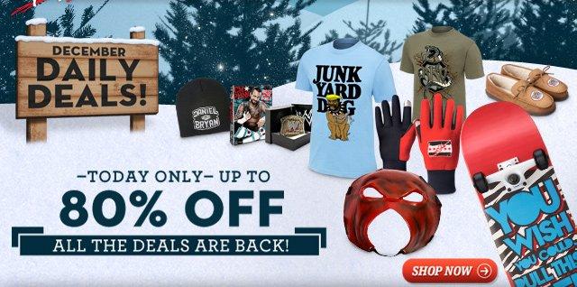 Get all the December Deals!