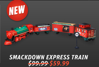 WWE SmackDown Express Holiday Train