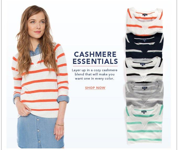 Cashmere Essentials - Shop Now