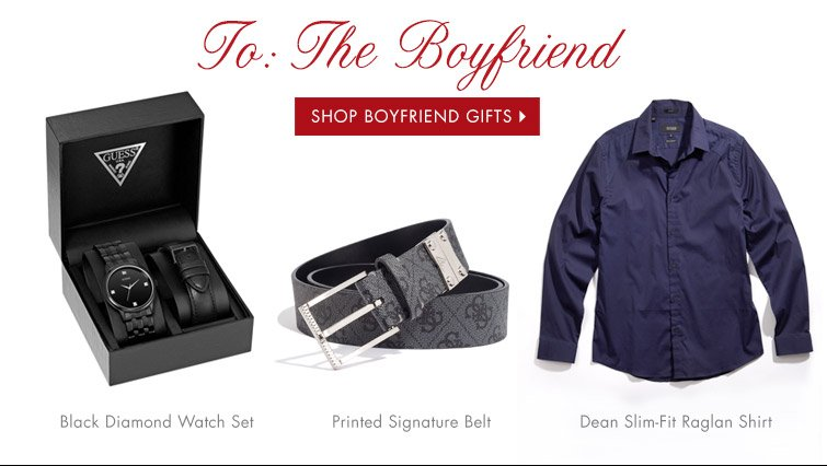 SHOP BOYFRIEND GIFTS