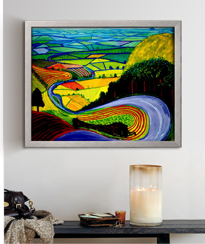 Garrowby Hill By: David Hockney