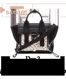 Day 2 - 3.1 Phillip Lim handbags from FORWARD - 5 Days Left