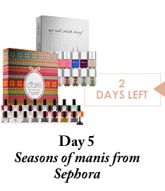 Day 5 - Seasons of manis from Sephora - 2 Days Left