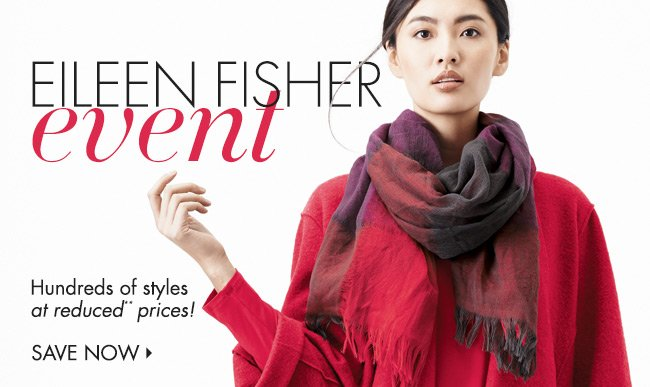 Eileen Fisher Event!