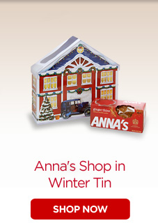 Anna's Shop in Winter Tin
