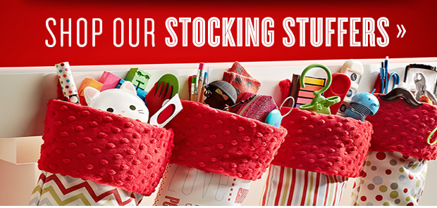 Shop Our  Stocking Stuffers »