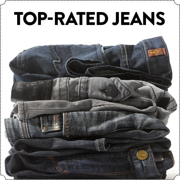 TOP-RATED JEANS