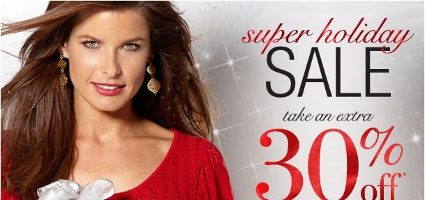 Super Holiday Sale! Take an Extra 30% off your entire order! Use RDCELEBRATE