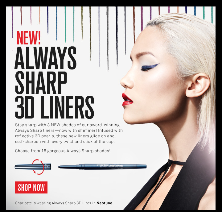 New! Always Sharp 3D Liner