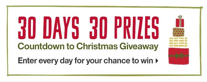 30 Days 30 Prizes