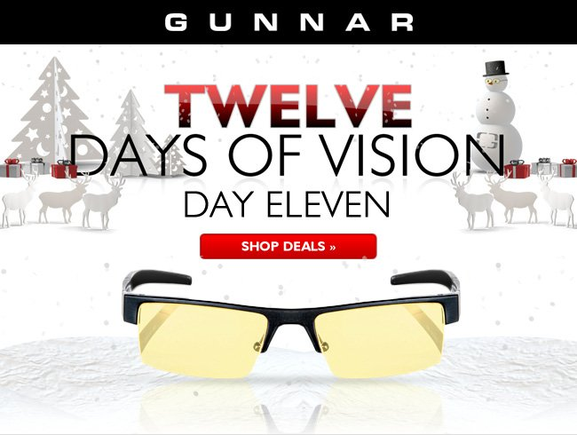 Day 11 | Epic Monday with up to 40% off eyewear