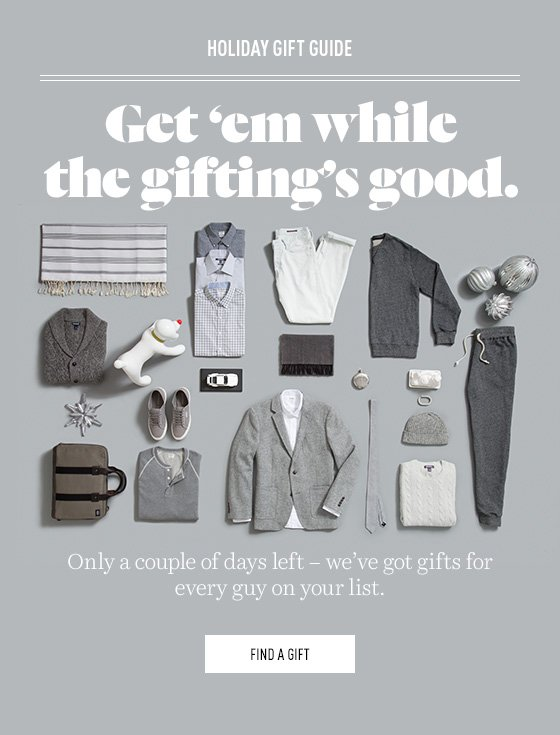 Gift shopping made easy.