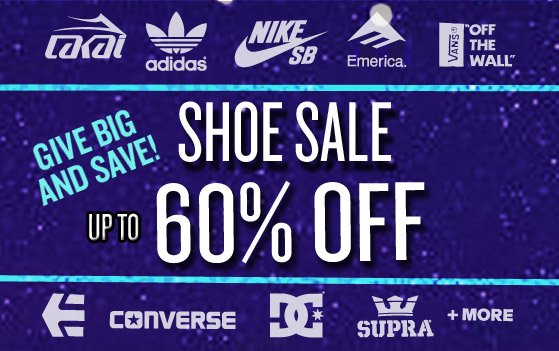 Shoe Sale: up to 60% Off