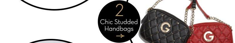 Chic Studded Handbags
