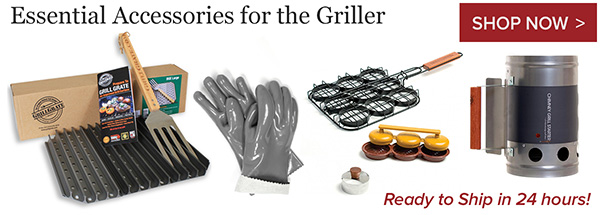 Hot deals essential accessories for the backyard griller.