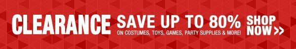 Clearance - Save up to 80%