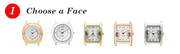 1 - Choose a Face