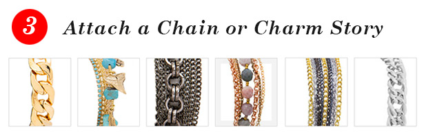 3 - Attach a Chain or Charm Story