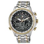 Citizen JY8034-58E Men's Navihawk A-T Eco-Drive Perpetual Chrono Ana-Digital Dive Watch