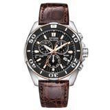 Citizen BL5446-01E Men's Signature Perpetual Calendar Chronograph Eco-Drive Dive Watch