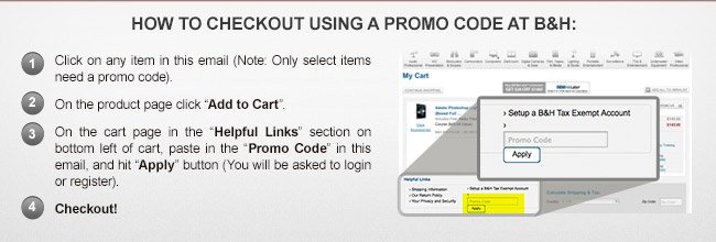 How to check out using a promo code