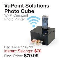 VuPoint Photo Cube