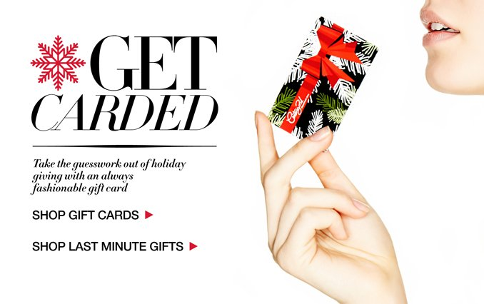 Buy A C21 Gift Card and Shop Last Minute Gifts!