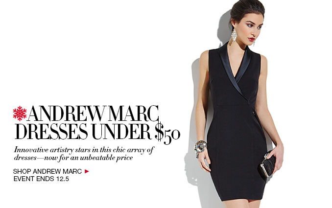Shop Andrew Marc Dresses Under $50